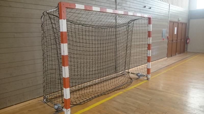 Filet amortisseur handball avec lestage envoyé par un client