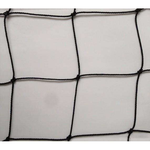 Filet pare-ballons - Mailles 100 mm - ∅ 2 mm - Câblé noué