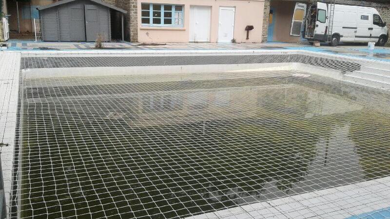Filet de sécurité anti-noyade pour piscine