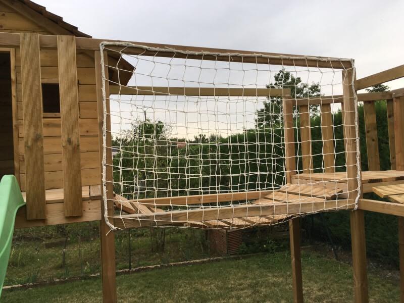 Pont de singe pour jeux enfants en bois