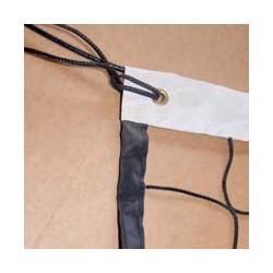 Filet de volley ball cablé noué - bande 100 mm