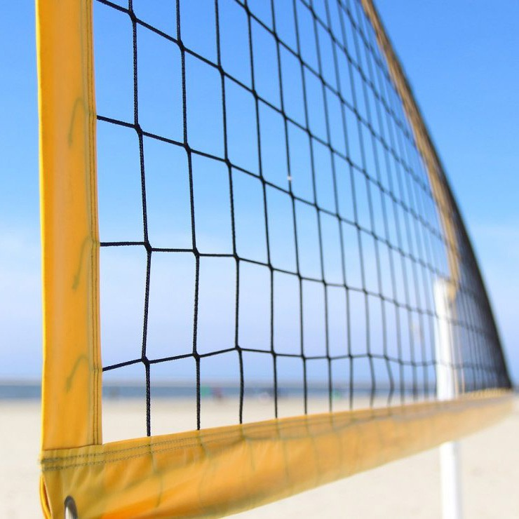 Filet beach volley - mailles 100 mm