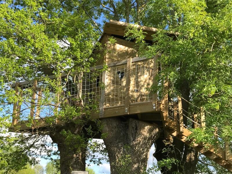 Sécuriser une cabane dans les arbres
