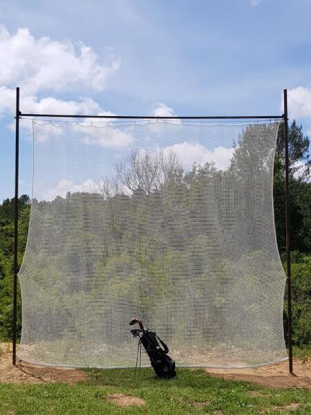 Filet de practice de Golf doublé pour tir à courte portée envoyé par un client