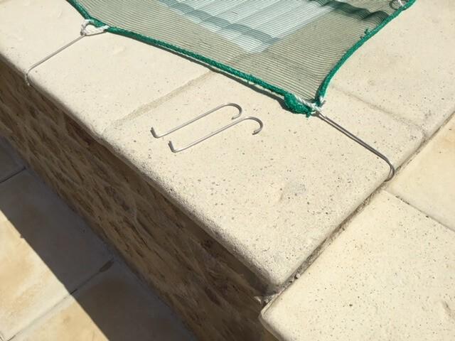 Filet anti-feuilles - Mailles 2 x 6 mm - 60 g/m² envoyé par un client