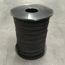 Bobine de ficelle polyamide noir - ∅ de 4,75 ou 6,2 mm