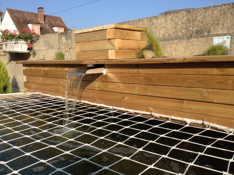 Protéger un bassin avec un filet de sécurité