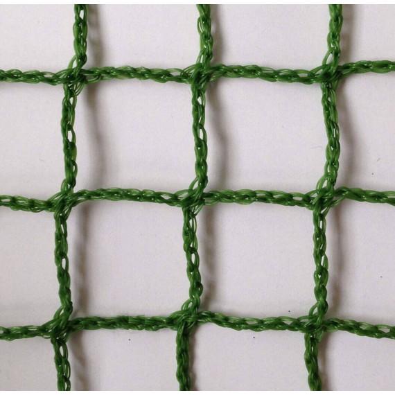 Filet polyéthylène 2,5 mm tressé sans noeud - mailles 45 x 45 mm
