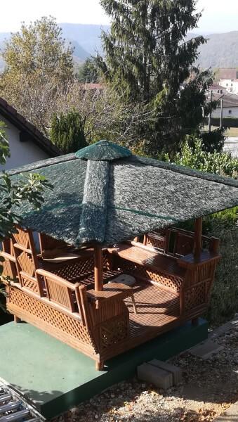Rouleau de filet anti-insectes - Mailles 2 x 6 mm - 60 g/m² envoyé par un client