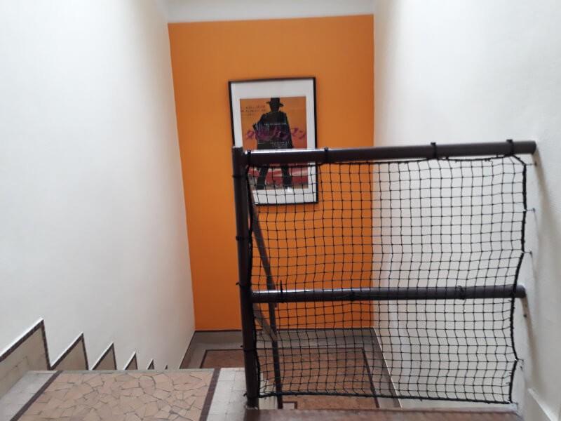 filet noir pour escalier