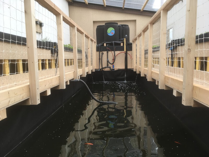 Filet de protection périphérique pour un bassin