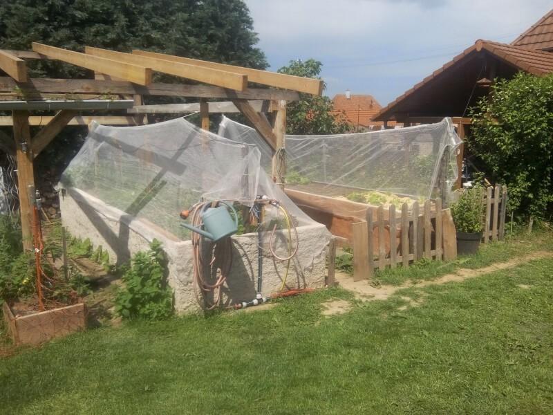 Filet anti-grêle de jardin