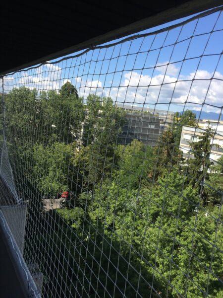 Filet de protection balcon pour jeunes enfants