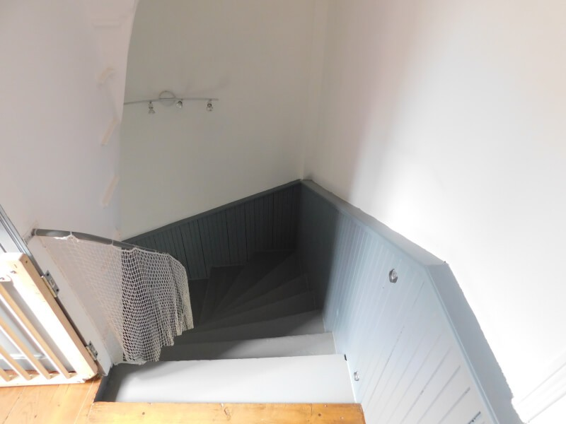 Filet protection enfant pour descente d'escalier