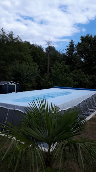 Filet anti salissures pour piscine et bassin
