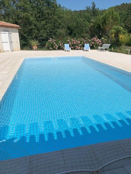 Filet de sécurité pour piscine
