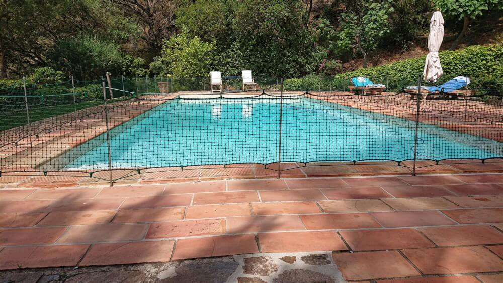 Filet de protection enfants pour piscine