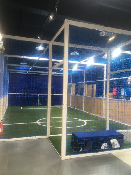 Filet pare-ballons pour cage de foot
