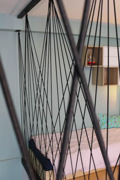 Sandow décoratif pour trémie d'escalier