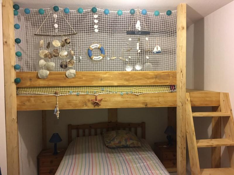 Filet de protection pour llit mezzanine
