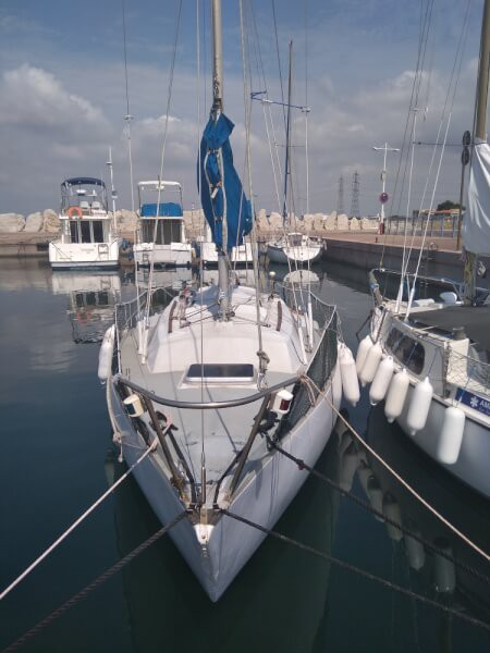Filet garde-corps pour rambarde bateau