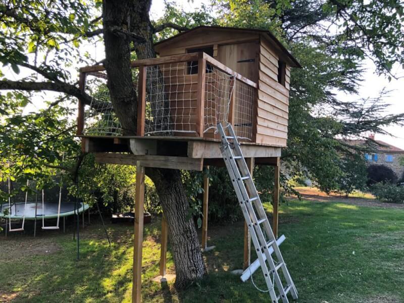 Utiliser un filet périphérique pour sécuriser une cabane dans les arbres