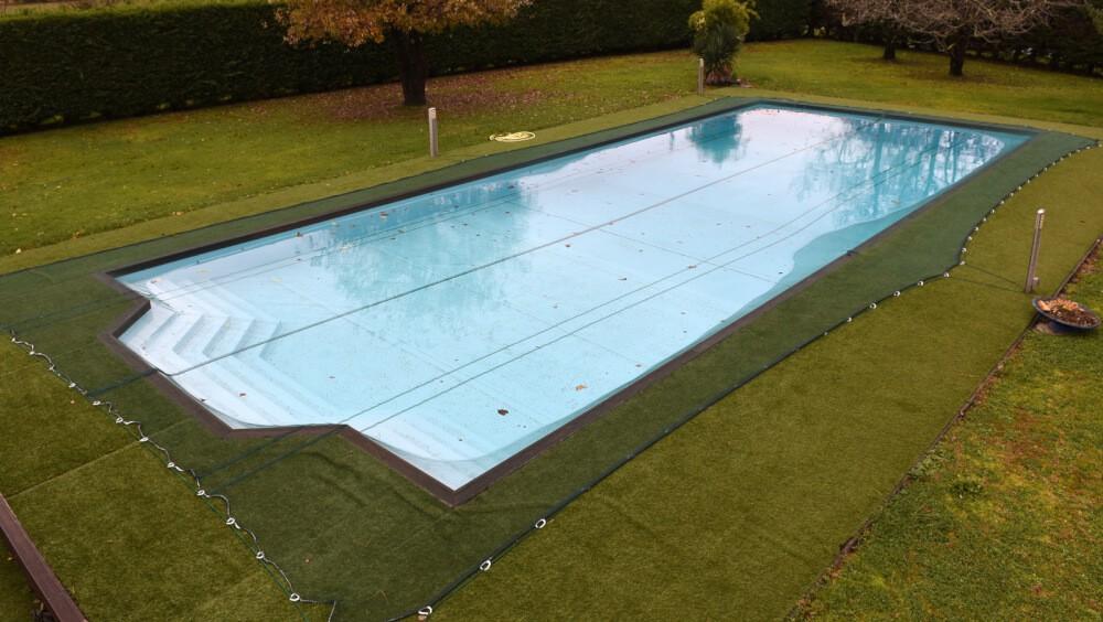 Filet anti-feuilles - Mailles 2 x 6 mm pour piscine