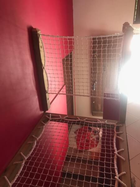 Filets de protection escalier pour habitation