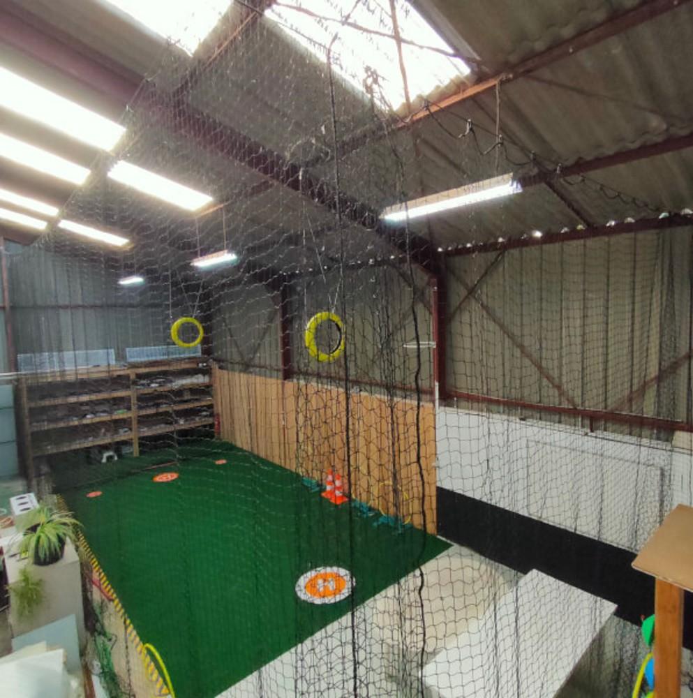 Filet de protection pour cage de vol pour drones