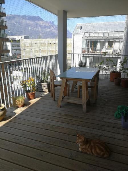 Sécuriser son balcon avec un filet de protection pour chat économique