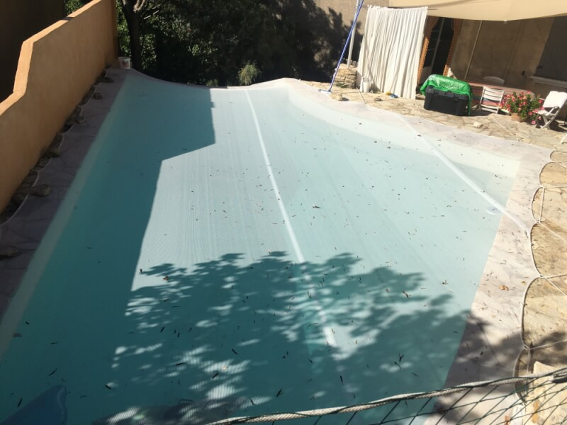 Filet anti-feuilles et poussière pour piscine