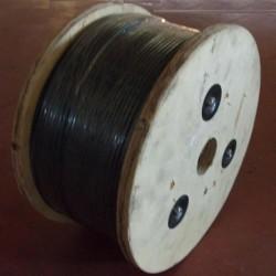 Bobine de câble acier avec gaine PVC