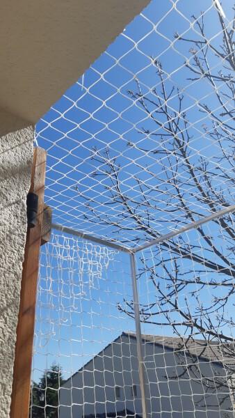 Protéger un balcon avec un filet de sécurité pour chat