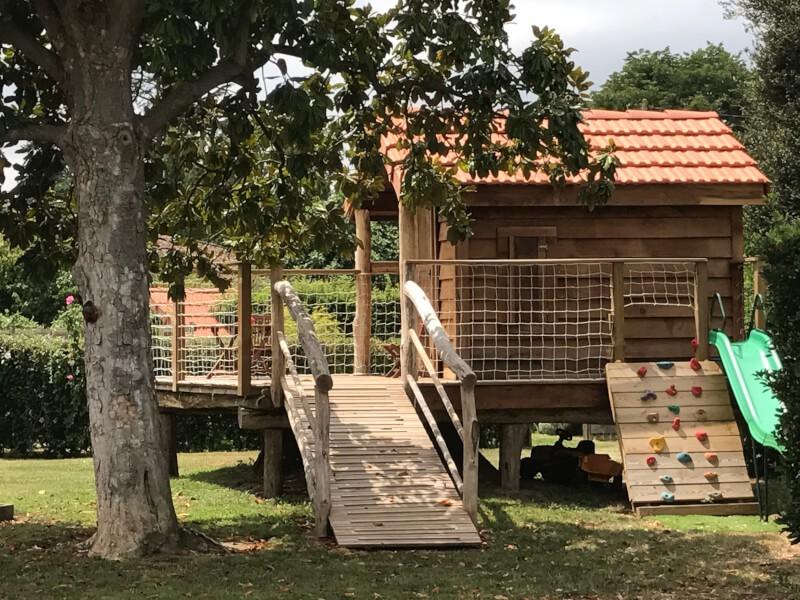Garde-corps pour cabane en bois