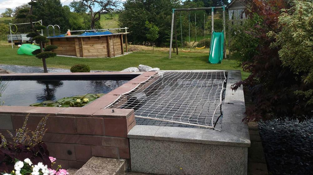 Filet de protection pour bassin