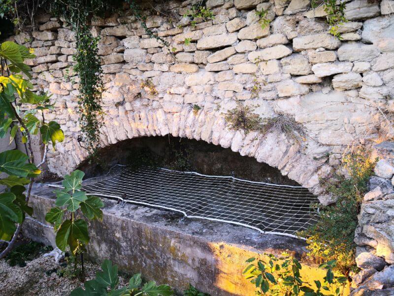 Filet de sécurité pour bassin
