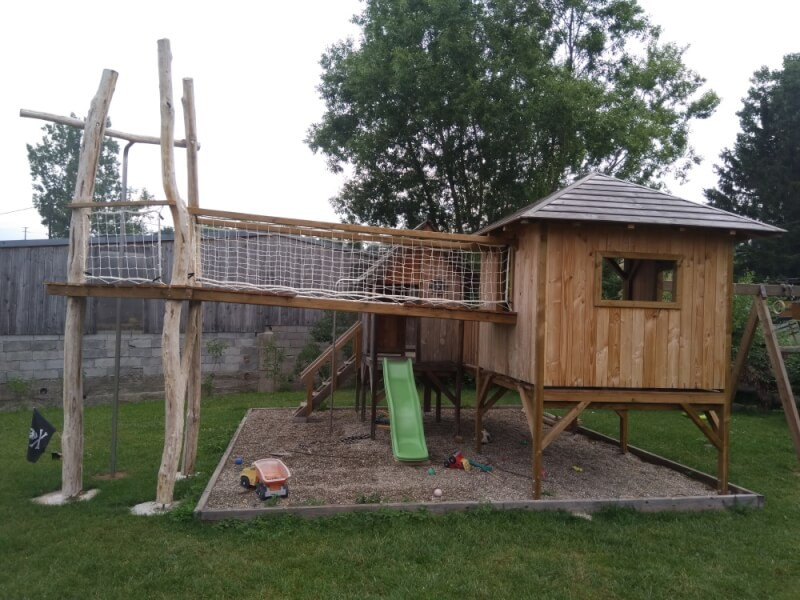 Filet garde-corps pour jeux enfants jardin