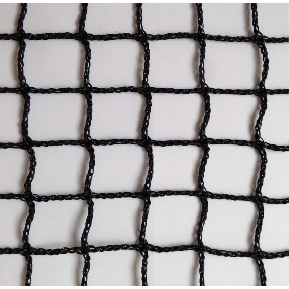 Filet polyéthylène 1,8 mm tressé sans noeud - mailles 25 x 25 mm