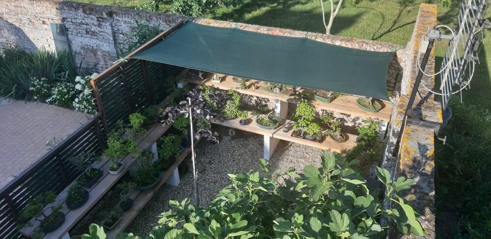 Filet d'ombrage pour plantes