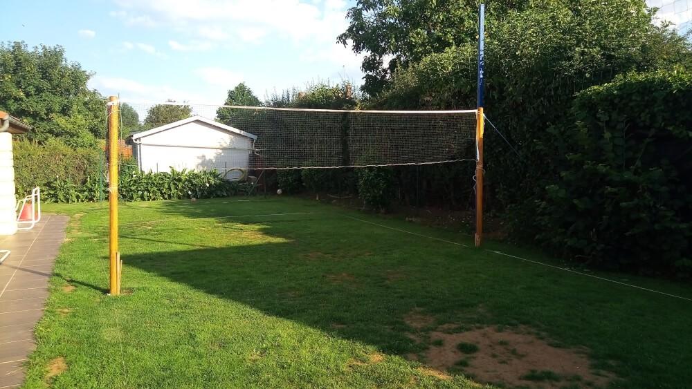 Filet badminton multi-usage pour jardin