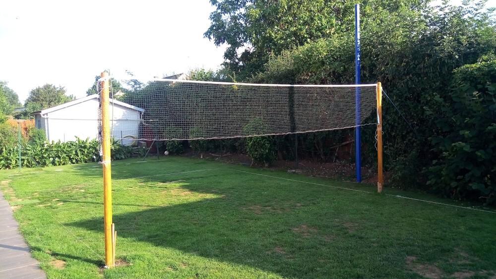 Filet de badminton économique pour jardin