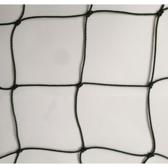 Filet pare-ballons - Mailles 100 mm - ∅ 2,3 mm - Câblé noué