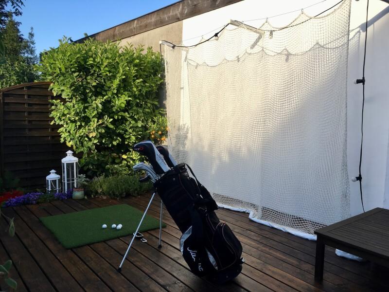 Filet de practice de Golf doublé