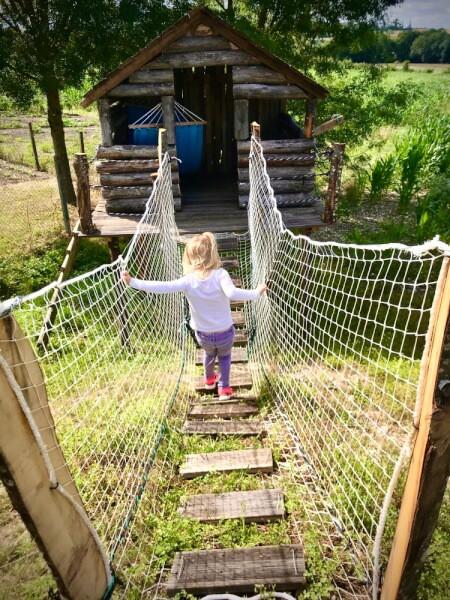 Pont de singe avec filet de protection la fabrique à filets