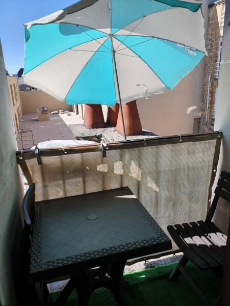 Brise-vue petit balcon