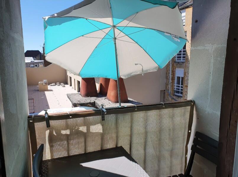 Brise-vue blanc ivoire pour balcon