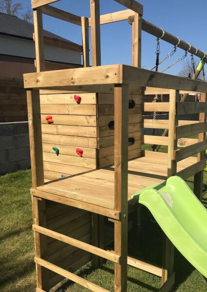 Sécuriser espace jeux enfants avec un filet de protection polyamide