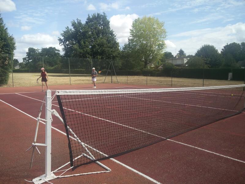 Filet de tennis standard