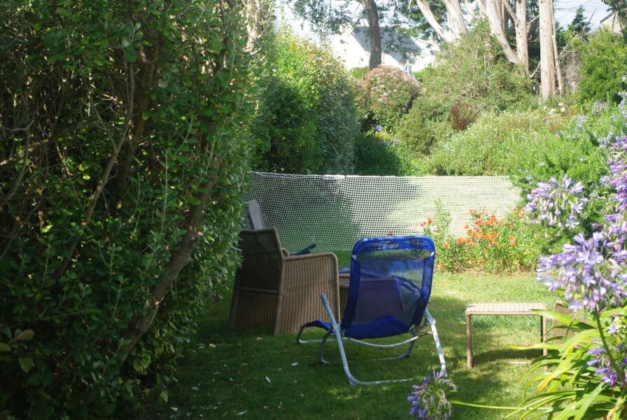 Délimiter votre jardin avec un filet de protection