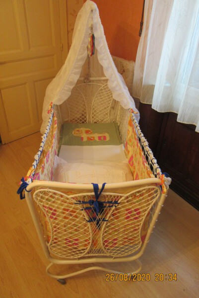 Filet de protection pour lit sur-mesure enfant handicapé